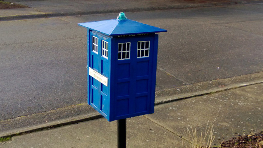 Tardis Little Free Library